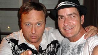 Alex Jones and Charlie Sheen