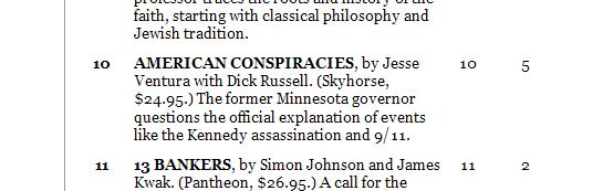 American Conspiracies by Jesse Ventura with Dick Russell