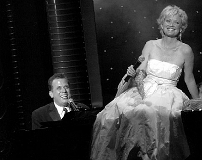 Christine Ebersole performs with pianist